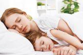 Çocuğunuz ile uyumayın