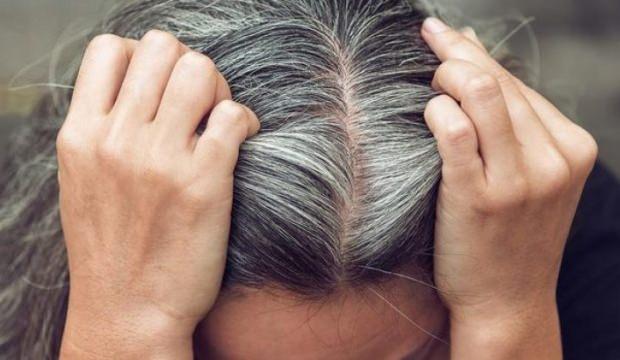 Beyazlayan saçlara doğal çözümler