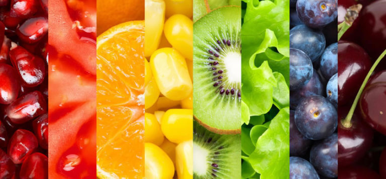 Besinlerin Renklerine Göre Yeme ve İçme