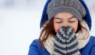 Soğuk Havada Cildin Korunması İçin Alınması Gereken Önlemler