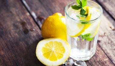 Limonlu Su İçmenin Faydaları Nelerdir ?