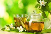 Yeşil çay limon ve maden suyu ile zayıflama kürü